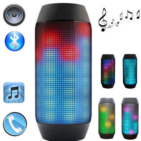 Lu Led Speaker blue tooth bluethooth mp3 som blutooth sound mini