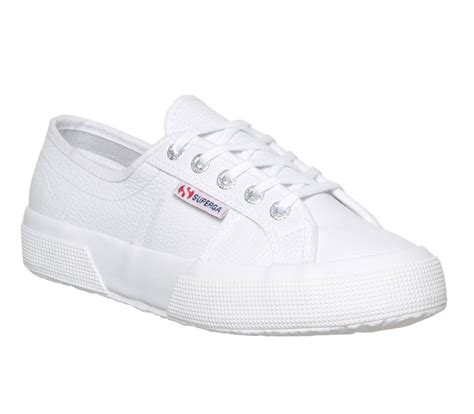 white leather tennis shoes superga 2750 white leather trainers shoes tennis shoes