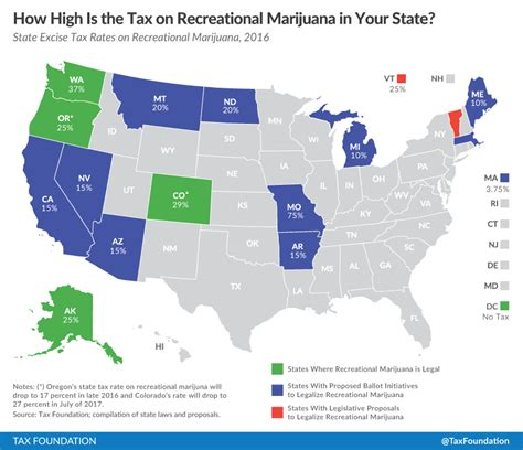 states with legal weed marijuana taxes lessons from colorado and washington