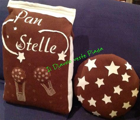 cuscini a biscotto cuscino sacchetto pan di stelle con biscotto per la casa