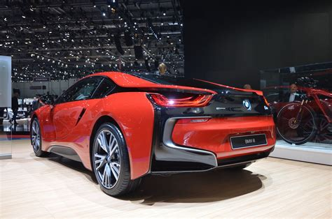 red bmw 2016 geneva 2016 bmw i8 protonic red edition gtspirit