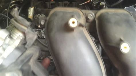 remove upper intake manifold 2002 mazda tribute part 1 detaching everything from the manifold remove upper intake manifold 2002 mazda tribute part 3 clog the holes with clean rags youtube