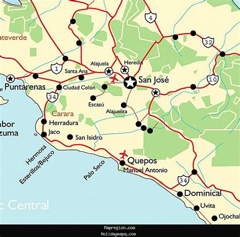 san jose map maps update 700560 san jose tourist attractions map