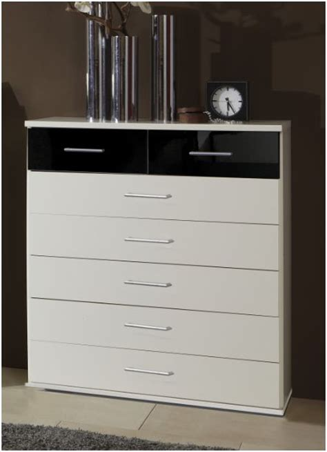 Dresser Drawer Amos by Black And White Large Chest Of Drawers Amos Mann