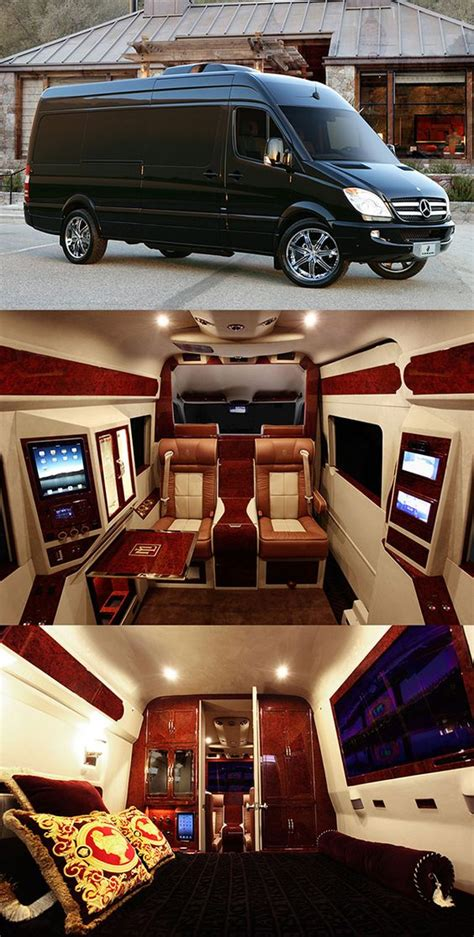 Mercedes Sprinter Custom Interior by Sprinter Coaching And Trips On