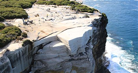 Wedding Cake Rock Fence by Royal National Park Consultation Your Say