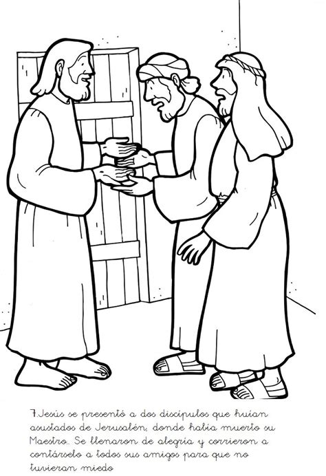 coloring pages jesus appears to his disciples the 19 best images about bible jesus appears to his