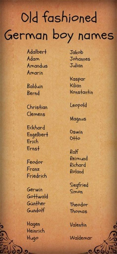 the top 50 classic boy names that are still cool today fashioned german boy names finding character names