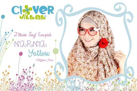 Segi Empat Motif Motif Cantik Limited Stock Original Wolfice clover jilbab modern
