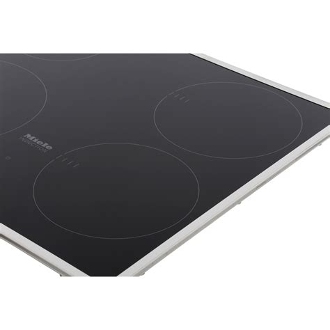 miele km6115 electric induction hob buy miele km6115 induction hob flat stainless steel trim marks electrical