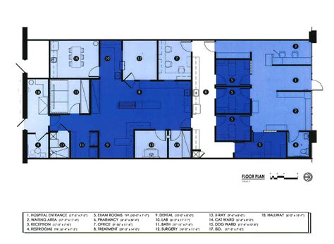 vet clinic floor plans 2016 veterinary economics hospital design s choice award winner veterinary clinic