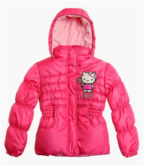 Hello Jacket new hello silver pink fleece lined jacket coat age 4 to 10 years ebay