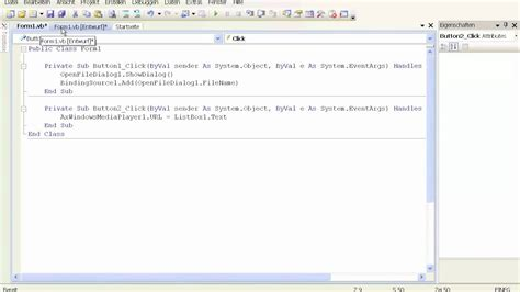 tutorial visual basic 2008 visual basic 2008 tutorial 9 media player youtube