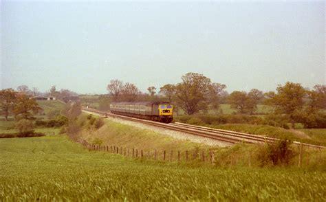 Landscape Photos Grainy Railways In Worcestershire