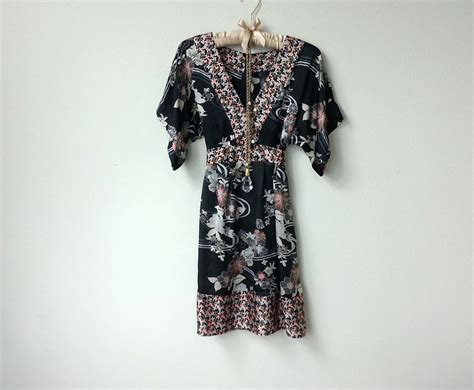 pink and black patterned kimono gorgeous pink and black satin kimono dress with floral