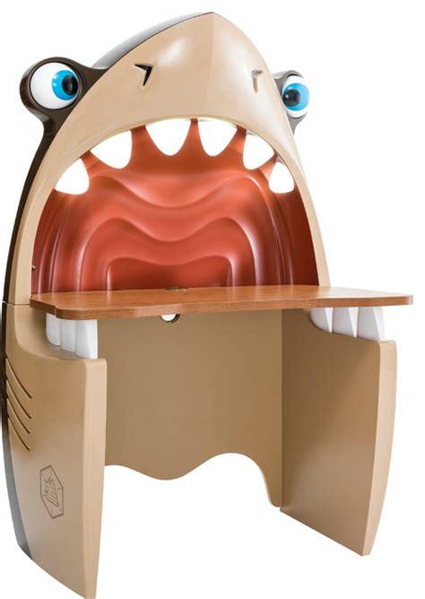 shark study desk modern kids desks and desk sets by