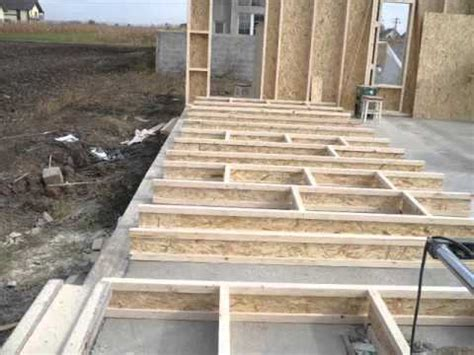 american wood frame house construction  square meters