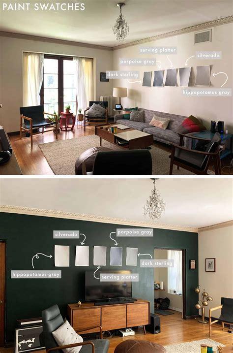 virtually designing  friends dark living room