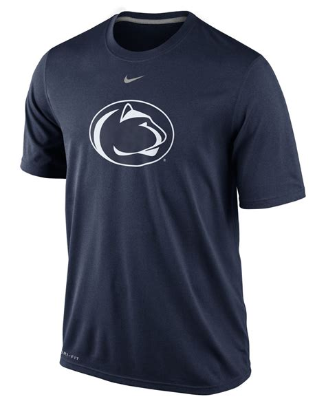 Sweater Hoodie Nike Highquality Bestseller Logos lyst nike s penn state nittany lions dri fit logo legend t shirt in blue for