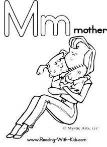 mother coloring page az coloring pages
