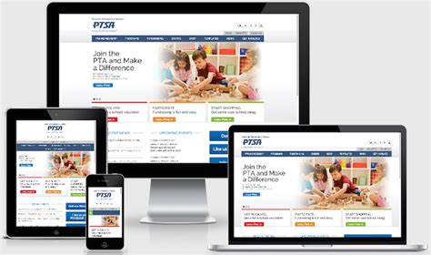 Pta Website Templates Gallery Template Design Ideas Pta Website Template