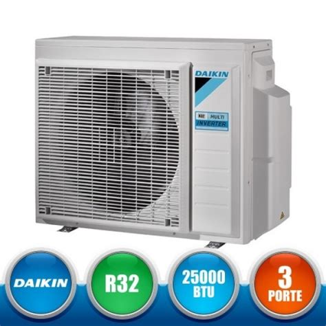Multi S Ac Daikin daikin 3mxm68m multi split outdoor unit bluevolution 25000 btu shopclima it