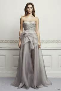 wedding dresses grey zień wedding dresses 2013 wedding inspirasi