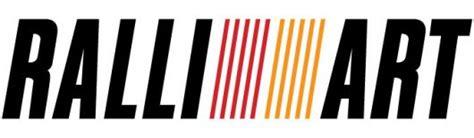 ralliart logo mitsubishi ralli cartype