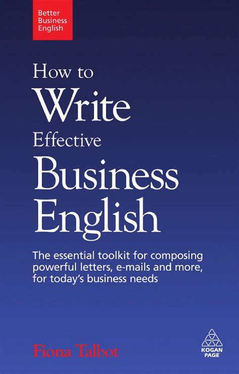 write effective business english essential