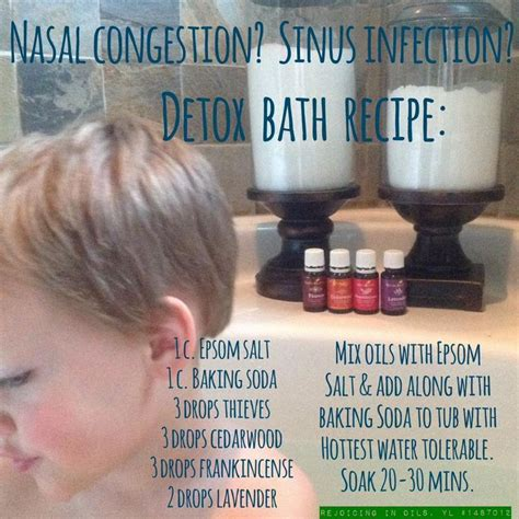 Baking Soda Detox Bath Benefits by Best 25 Living Congestion Ideas On