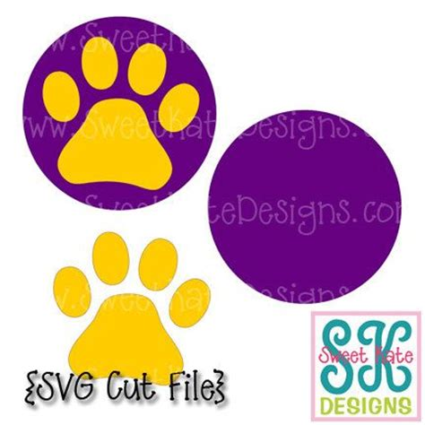 can cricut printable vinyl get wet paw print svg jpg png can be a scrapbook die cut or heat