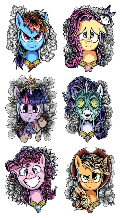 my little pony elements of harmony coloring pages my little pony elements of harmony designs by ziom05 on