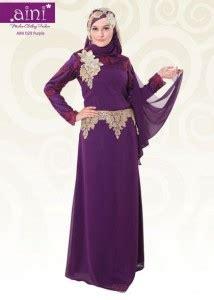 Gaun Mareeam Gamis Pesta Jaguard S M L Syar I aini bunda 029 purple pusat busana gaun pesta muslim modern