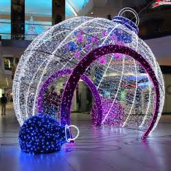 big decorations outdoor decorative big led light balls outdoor