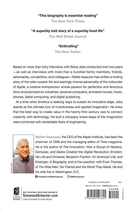 essay on biography of steve jobs steve jobs essay