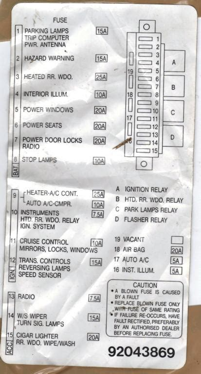vx commodore fuse box diagram 29 wiring diagram images