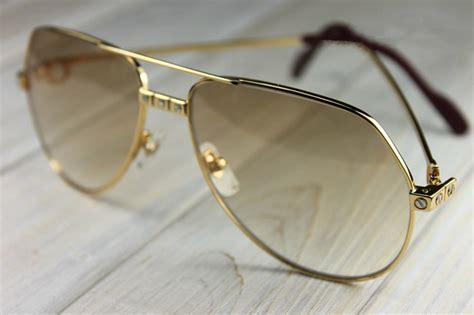 cartier santos vintage sunglasses