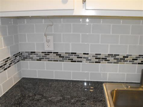 glass subway tile backsplash ideas top glass backsplash with white cabinets wallpapers
