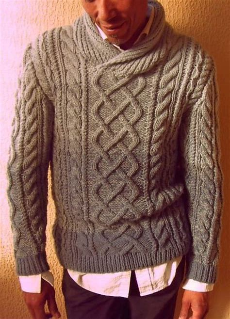 free mens aran jumper knitting pattern danny b aran pullover pattern by j cazley cable ravelry