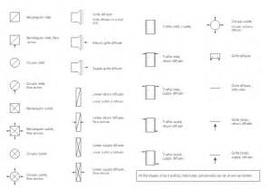 lighting symbols for floor plans design elements registers drills and diffusers