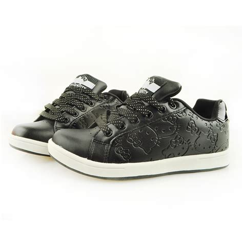 Hello Sneakers hello s casual sneakers shoes black embossed 916032 a shop