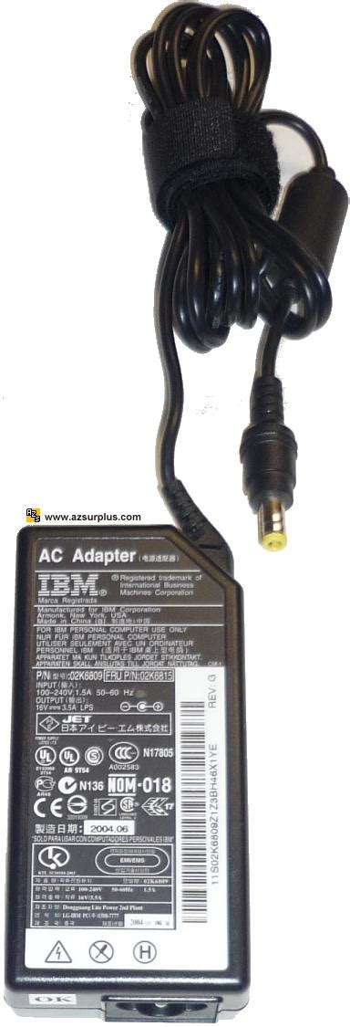 Adaptor Ibm 16vdc 336a Original other items that can not be categorized precisely magnifier etc