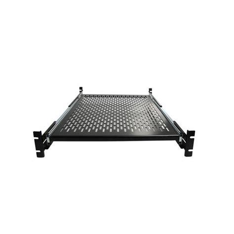 2u Sliding Rack Shelf by Startech 2u Adjustable Mounting Depth Vented Sliding