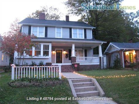 Carolina House Rentals by Sabbaticalhomes Durham Carolina United States