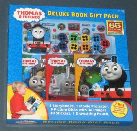 friends deluxe book gift pack set tank engine