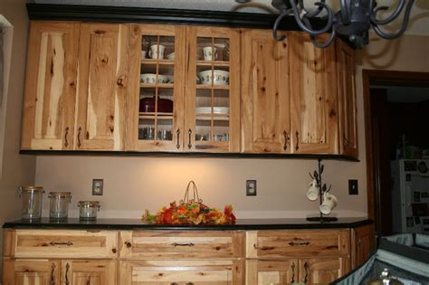 rustic hickory kitchen cabinents cabinets plus kitchens