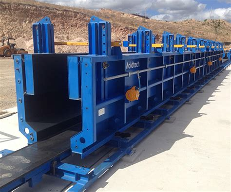 Low Beds by Moldtech Precast Casting Beds Forms Amp Equipment Nox Crete Products Group