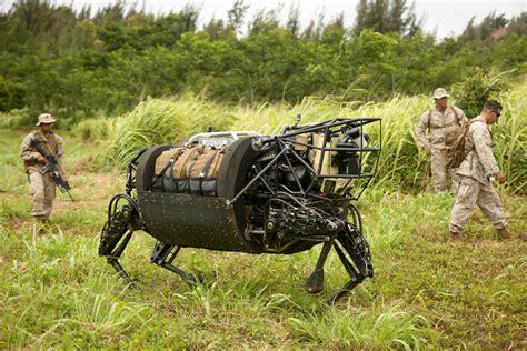 Dietz Ls by Marines Test New Ls3 Robot In Hawaii