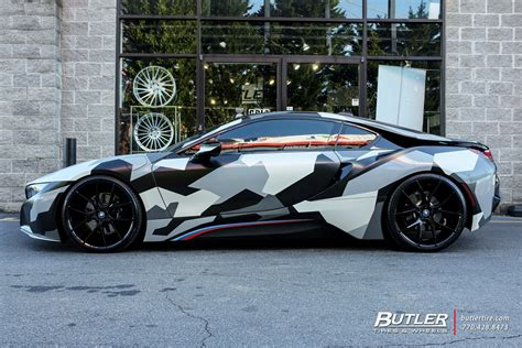 bmw i8 tire size bmw i8 with 22in savini bm14 wheels exclusively from