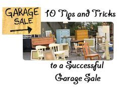 Garage Saling Tips by 1000 Images About Tips And Tricks For Thrifty Living On